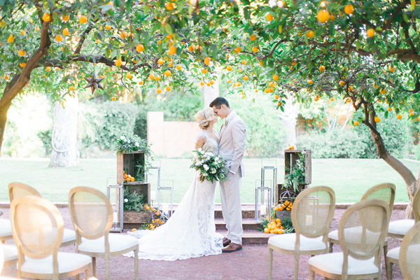 Ruffled - photo by Andrew Jade Photography http://ruffledblog.com/scottsdale-wedding-inspiration-with-citrus