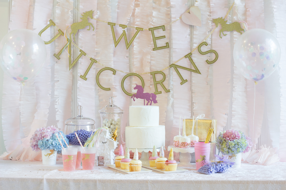 Unicorn Birthday Party - Beau-coup.com