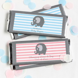 Elephant-themed Hershey's Bars